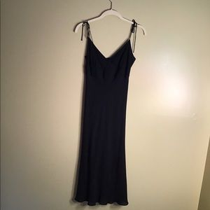 J Crew Women's Black Silk Dress Size 4